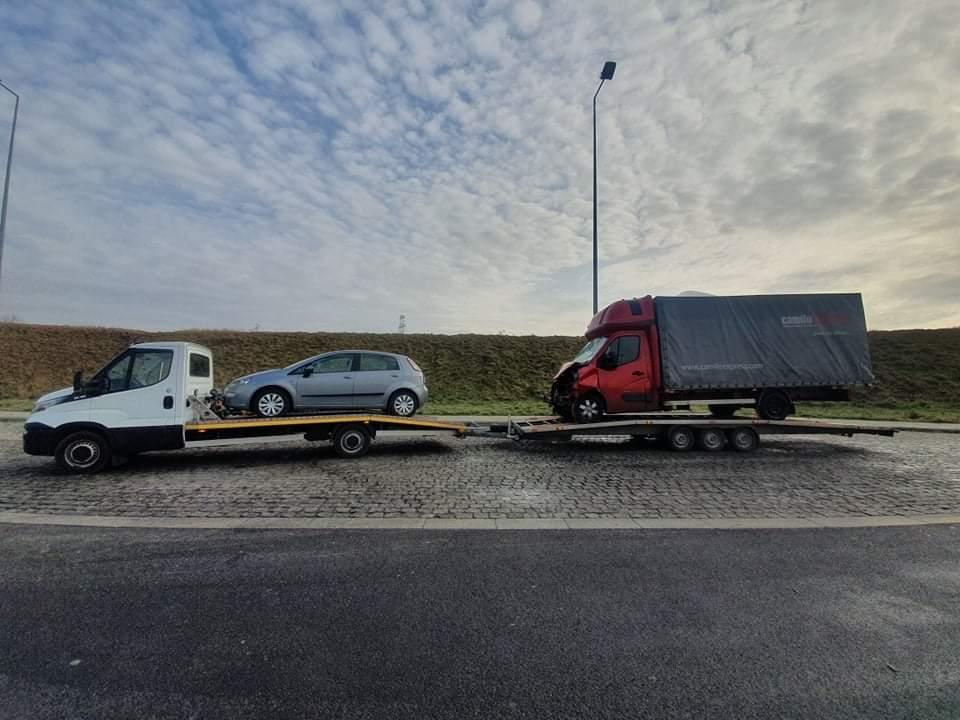 Pomoc drogowa na terenie Bytomia - laweta, autolaweta i holowanie
